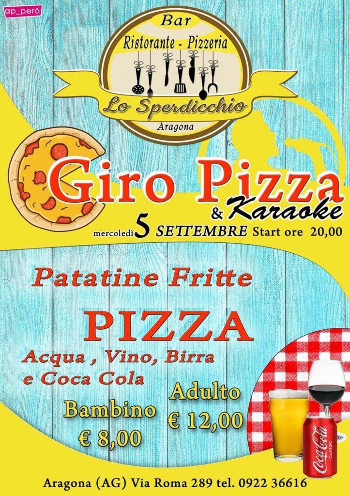 GiroPizza Lo Sperdicchio 5 Settembre 18